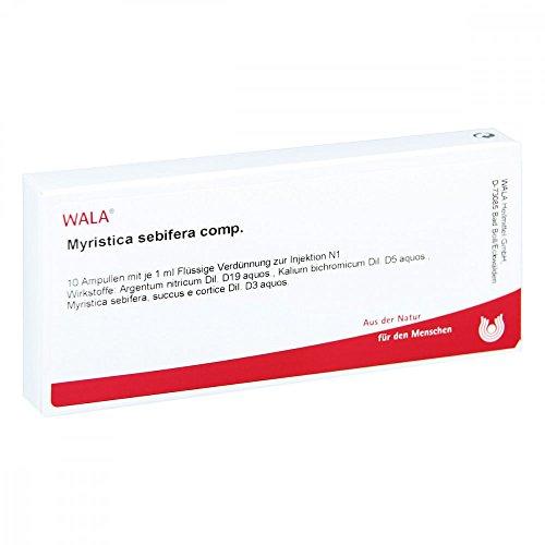 MYRISTICA SEBIFERA COMP, 10X1 ml