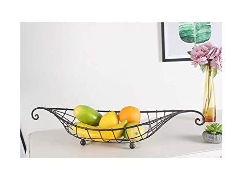 Tazón de cerámica Nordic Creative Fruit Plate Fruta Basket Ship Fruit Plate Fruta Plato Snack