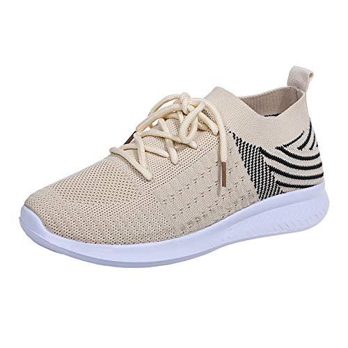 Zapatillas de Deportes con Cojines Hombre Mujer Zapatos Deportivos Aire Libre para...