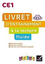 Lecture CE1 Ed. 2019 - Livret d'entrainement à la lecture fluide de Jean-Pierre Demeulemeester