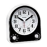 Peakeep Non-Ticking Silent Alarm Clock,...