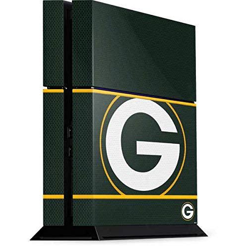 Skinit Decal Gaming Skin Compatible with PS4 Console - Officially Licensed NFL Green Bay Packers Zone Block Design
