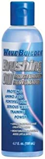 Wavebuilder Brushing Oil Moisturizing Revitalizer, 4.7 Ounce by Wavebuilder