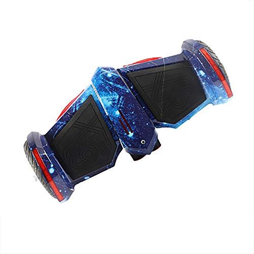 Hoverboard Self Balancing Patinete Eléctrico Scooter de Equilibrio de Spray Inteligente para niños y Adultos, Star Blue