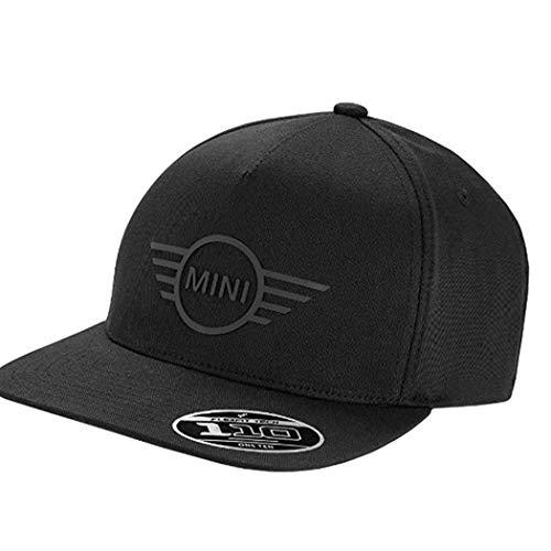 ORIGINAL MINI Baseball Cap Basecap Kappe Mütze CAP WING LOGO FLAT PEAK BLACK