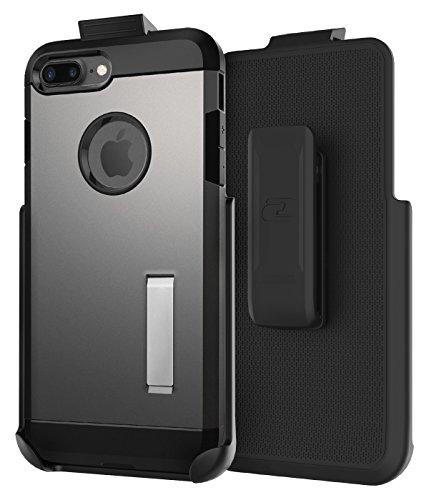 Encased Clipe de cinto compatível com a capa Spigen Tough Armor - iPhone 7 Plus 5,5 polegadas (capa vendida separadamente)