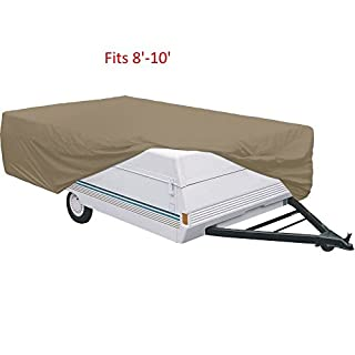 Pop Up Tent Trailer Cover- Fit 8'-10' Trailer (B000TC2SW2) | Amazon price tracker / tracking, Amazon price history charts, Amazon price watches, Amazon price drop alerts