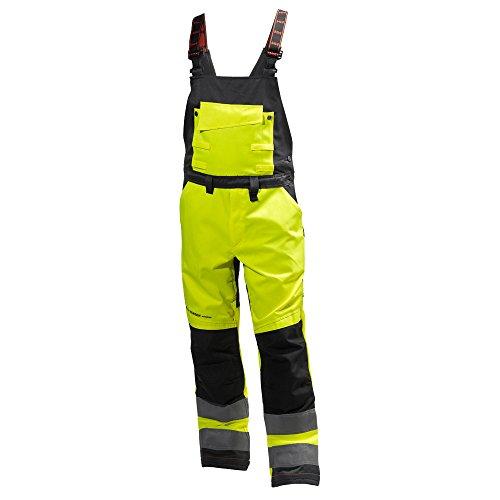 Helly Hansen Workwear 34-077510-369-C56 Warnschutz Latzhose ALNA-Helly Hansen Gelb/Kohle C56