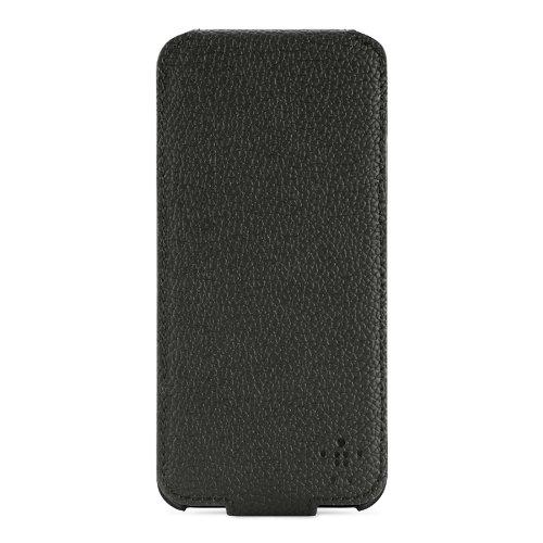 Belkin Snap Folio - Funda para móvil iPhone (resistente a rayones), negro