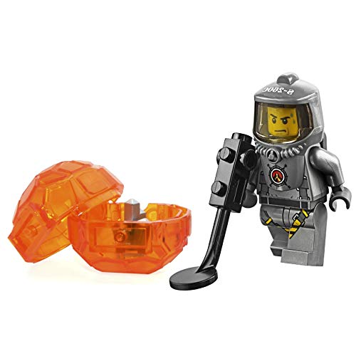 LEGO City Volcano Explorers MiniFigure: Male Scientist (with Heatsuit and Rock Crystal) 60124