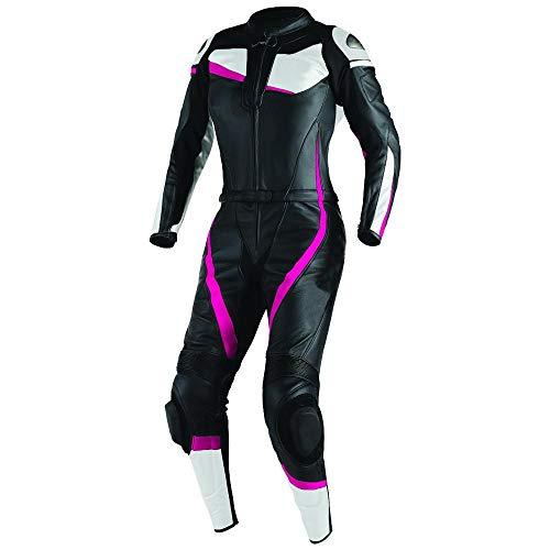 Corso Fashion Damen Motorrad Lederkombi - Motorrad Rennsport Schutzkleidung Bikerausrüstung - Maßanfertigung Style246