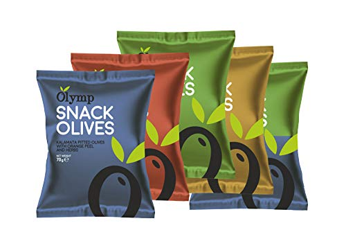 Greek Pitted Olives Variety Snac...