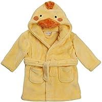 Albornoz con capucha con forma de animal para bebés Amarillo Yellow Duck 18-24 Meses