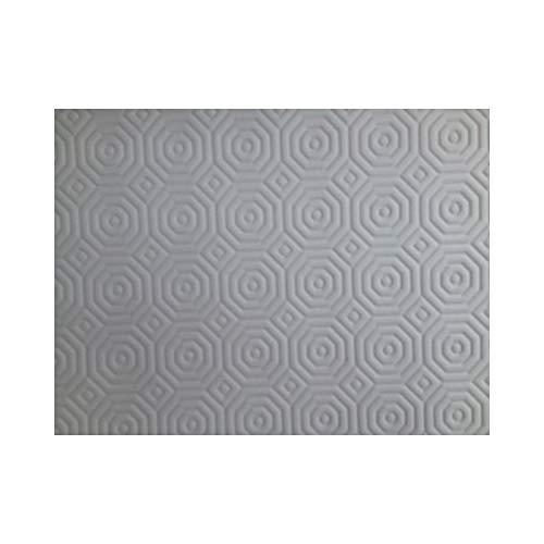 Protège Table Blanc Uni, Efficace, Épais - ART2LATABLE -Épais, 150 cm de Large - Protection de Table, Dessous de Nappe (Nappe Carree 150x150 CM)