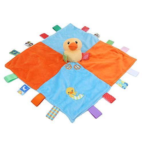 Beruhigende Decke für Kleinkinder, Plüsch, Sicherheitsdecke, beruhigende Decken für Baby-Spielzeug (Entchen, Appease Plüschtiere)