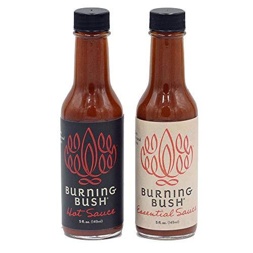 burning bush hot sauce - 1