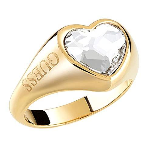 GUESS Anillo Anillo Big Crystal Heart UBR70004-56 UBR70004-56 Marca