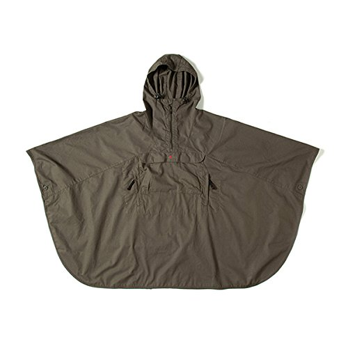 (グリップスワニー)Grip Swany Fire Proof Poncho Olive GSJ-40