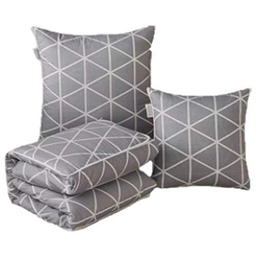 Trendcool Mantas Sofa. Manta para Sofa Grande 145x195 cm. Se transforma en cojín 50x50. Colchas y Mantas para Sofa Decorativas. Manta para Cama.