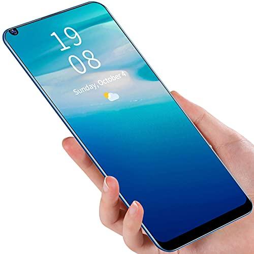 Zopsc-1 Teléfonos Móviles, Pantalla Ultra Grande Pro + Pantalla De 6.72 Pulgadas X66 2 + 16GB Smartphone para Viajes para La Familia para 8.1(Azul)