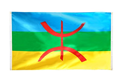 Flaggenfritze® Balkonflagge Berber Amazigh