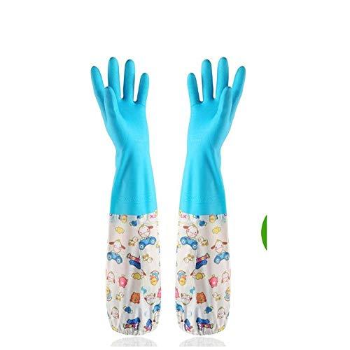 Een washandje, vrouwelijk, wasmiddel, servies, siliconen, reiniging, huishouden, lange mouwen, werk, kunst, wasmachine, rubber, reiniging, lange - - Une taille