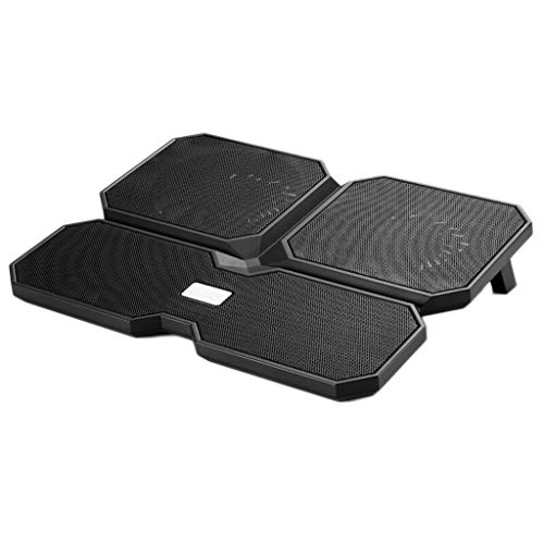LF stores-Cooling Pads Laptop Opvouwbare USB-aansluiting Radiator Computer Stand voor 15.6inch Laptop