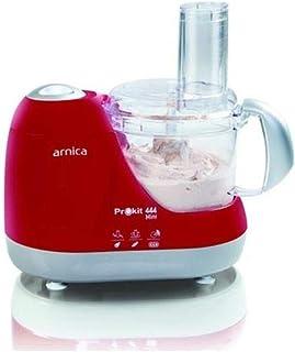Arnica Prokit 444 Mini Mutfak Robotu, Kırmızı
