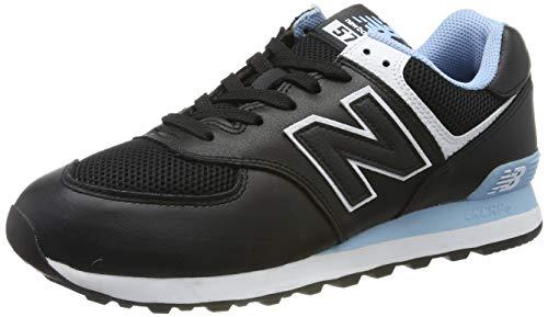 New Balance  ML574NSE, Herren Sneaker Schwarz 40 EU X-Ancho