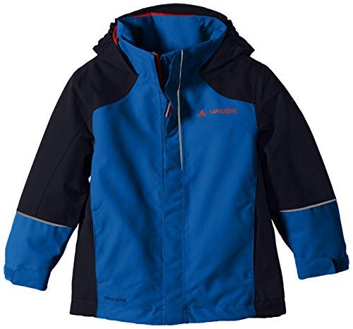 VAUDE Unisex - Kinder Racoon Jacke, hydro blue, 92, 05517