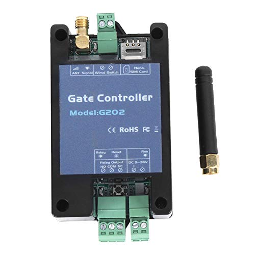 Controlador de puerta de control de puerta GSM con interruptor con cable,...
