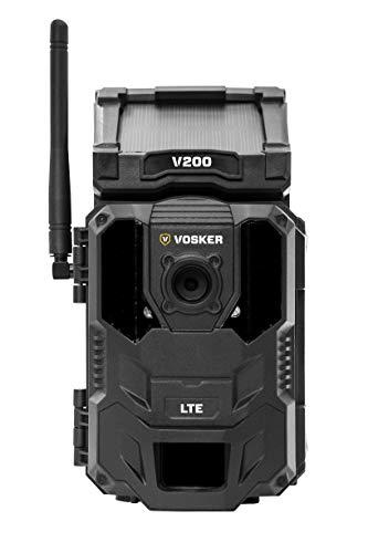 VOSKER V200 LTE, telecamera di sorveglianza per esterni, wireless, sorveglianza di edifici, telecamera di sicurezza mobile wireless,