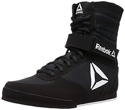 Reebok Herren Boxing Boot Box-Stiefel, schwarz/weiß, 39 EU