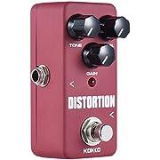 ammoon Mini Distortion Pedal Portable Guitar Effect Pedal KOKKO FDS2
