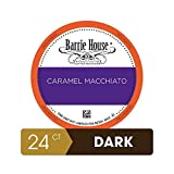 Barrie House Caramel Macchiato Single Serve Coffee Pods, 24 Pack | Compatible With Keurig K Cup Brewers | Fair Trade Organic Small Batch Artisan Coffee in Convenient Single Cup Capsules