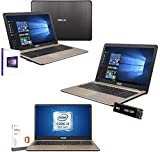 Notebook Portatile Asus intel i5 8250U 3,4ghz,Ram 4Gb Ddr4,Ssd 256 Gb,Display Led hd 15.6' antiriflesso,Hdmi,3xUsb,Wifi,Bluetooth,Webcam,Windows 10 64 bit,Office Pro 2019,Antivirus