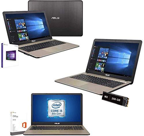 Notebook Portatile Asus intel i5 8250U 3,4ghz,Ram 4Gb Ddr4,Ssd 256 Gb,Display Led hd 15.6' antiriflesso,Hdmi,3xUsb,Wifi,Bluetooth,Webcam,Windows 10 64 bit,Office Pro 2019,Antivirus