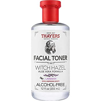 THAYERS Alcohol-Free Lavender Witch Hazel Facial Toner with Aloe Vera Formula 12 Ounce
