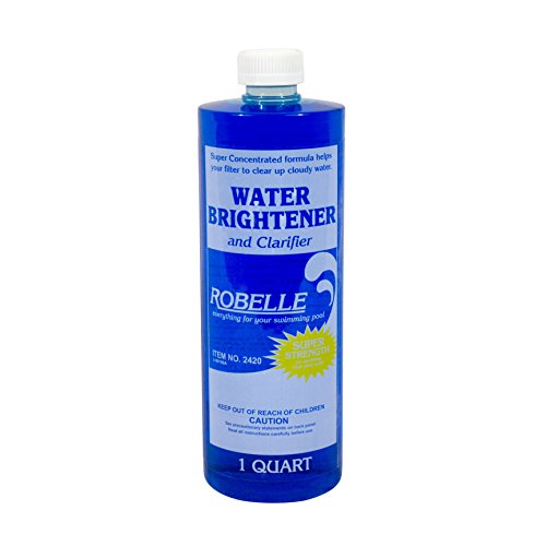 Robelle 2420 Water Brightener and Clarifier for Swimming Pools, 1-Quart
