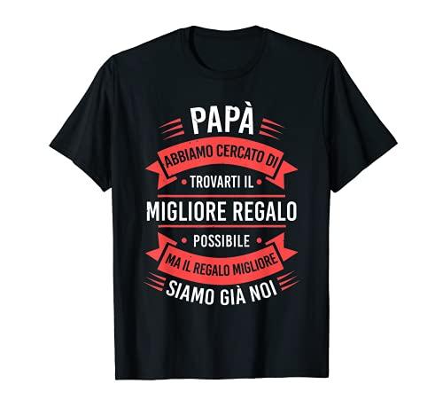 Vintage Festa Del Papà Padre Regalo Papà Compleanno Maglietta