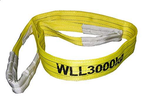 Connex Hebebänder, 4 m x 90 mm, TÜV geprüft, Polyester B34445