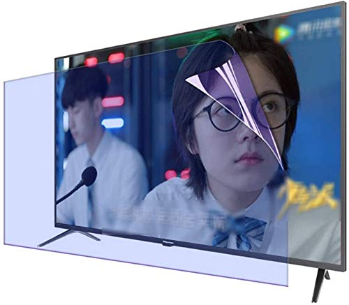 Auoeer para 32-75 Pulgadas LED TV Smart TV TV Anti-deslumbramiento Anti-Blue Light Screen Screen Film Accessories (Color : HD Version, Talla : 37 Inch 819 * 460mm)