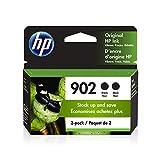 HP 902   2 Ink Cartridges   Black   Works with HP OfficeJet 6900 Series, HP OfficeJet Pro 6900 Series   3YN96AN