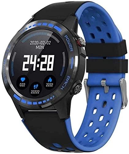 Reloj Inteligente De Los Hombres De Bluetooth Llamadas 360mAh Deportes Al Aire Libre Reloj Inteligente-Azul