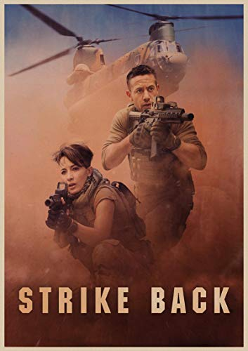 Strike Back TV Poster Retro Classic Art Poster Home Decorated Movie Wall Stickers Posters and Prints 50X70Cm Sg-4016