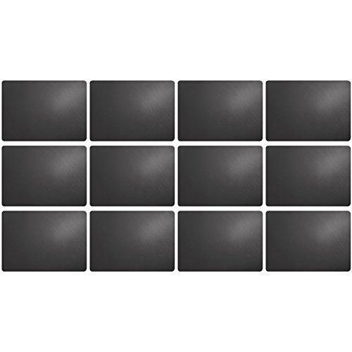 ASA Selection 7807420 Table top Lot de 12 sets de table en plastique imitation cuir 46 x 33 cm