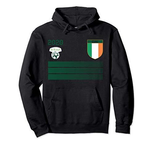 Maglia da calcio Irlanda 2020 Irlanda Soccer Felpa con Cappuccio