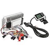 Surebuy Pantalla LCD del Controlador Sin Escobillas del Motor, Controlador del Motor De 22,5 Mm / 0,9 Pulgadas con Diseño De Ranura De LCD para Manillares