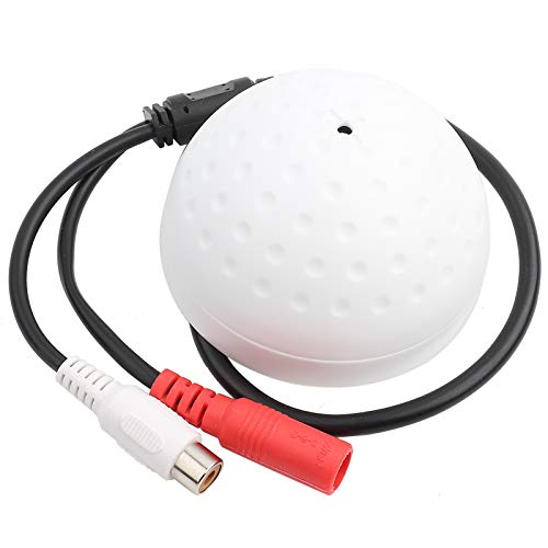 Yoidesu Micrófono de alta sensibilidad Micrófono de vigilancia CCTV Micrófono de captación...