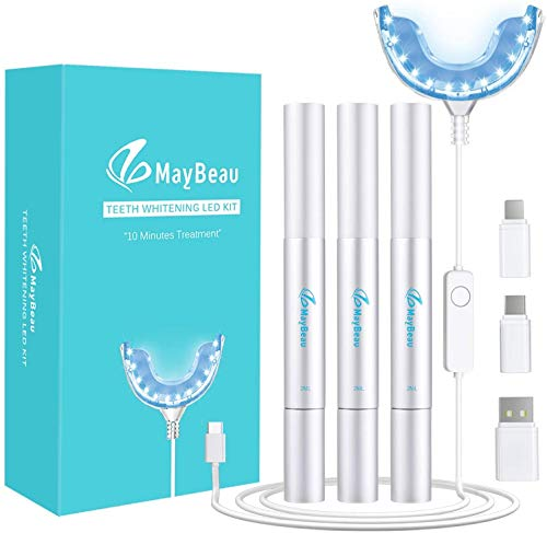 BESTOPE Teeth Whitening Kit,Zahnaufhellung Set 3 Zahnaufhellung Stifte für Weiß Zähne Zahnweiß Zahnreinigung Zahnpflege zu Hause
